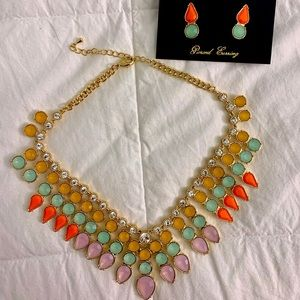Cosmo Necklace and Earrings